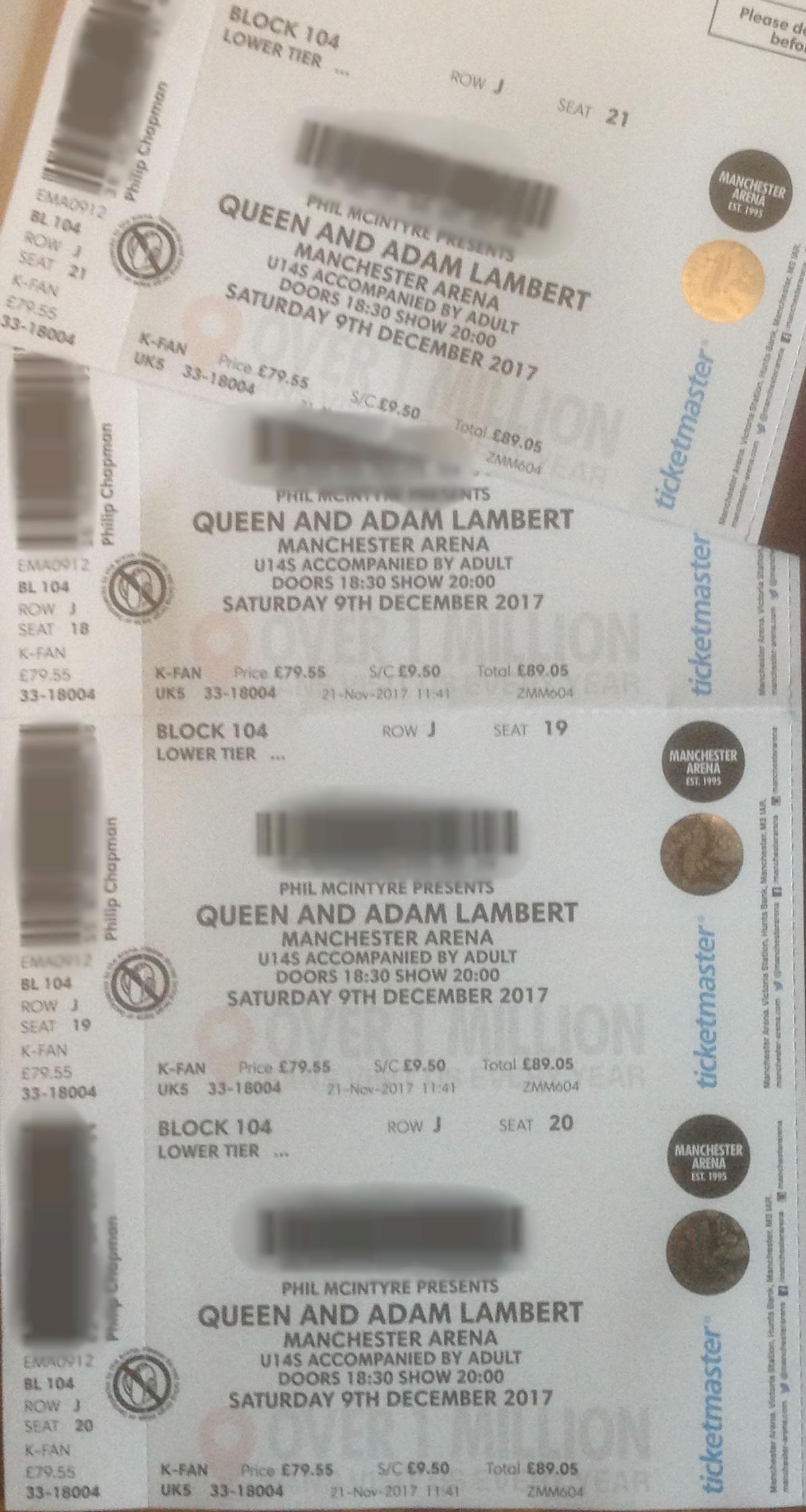 Q+AL tickets 2017