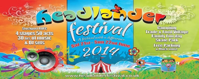 Headlander Festival 2014 banner