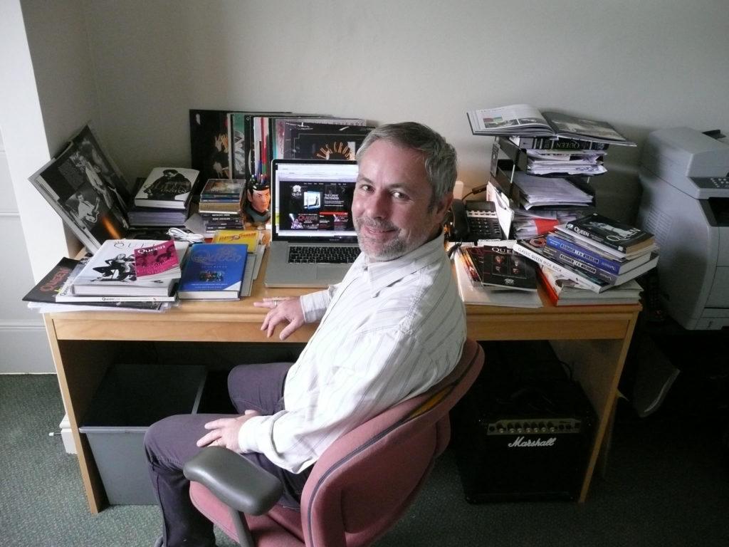 Phil Chapman at work